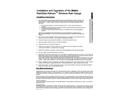RainWise Rainew - Wireless Rain Gauge - Installation and Operation of the Metric Manual