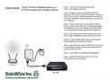 Model IP-100 Wi-Fi Adapter Set Up Diagram