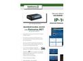 RainWise  - IP-100 - Internet Network Interface - Catalogue