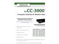 RainWise - CC-3000 - Computer Interface & Weather Data Logger - Catalog