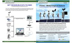 PVmet 330 All Weather Data Commercial Model Brochure