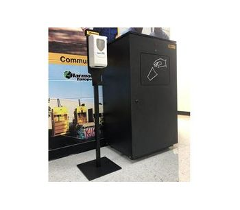 Harmony's Hand Sanitizer Stations