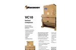 Harmony VC10 Vertical Outdoor Compactor - Brochure