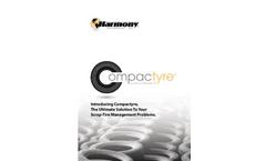 Compactyre - Indoor/Outdoor Tire Compactor - Brochure