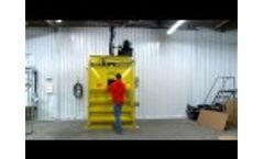 M60STD Vertical Baler by Harmony Enterprises - Video