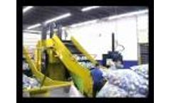 Vertical Baling System for Recycling by Harmony Enterprises - System Ten Sixty - Video