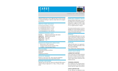 CARULITE 300 Catalyst Converter - Datasheet