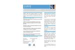 CARUS 1000 Water Treatment Chemical - Datasheet