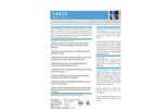CARUS 8500 Water Treatment Chemical Brochure