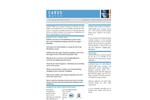 CARUS 8600 Water Treatment Chemical - Datasheet