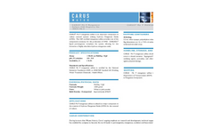 CARUS Mn P Manganese Sulfate Data Sheet