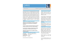 CARUS Struvout Dispersant and Sequesterant Data Sheet