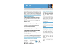CARUS 8500 Poly-Orthophosphate Data Sheet