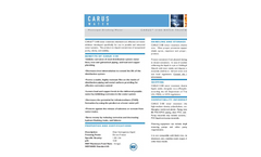 CARUS 3180 Zinc and Orthophosphate Blend Data Sheet