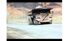 Dust Stop - Cananea Mexico Copper Mine (March 2015) - Video