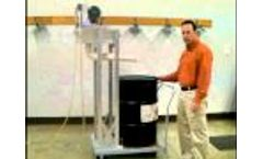Oil Skimmer Cart Mount System - Video