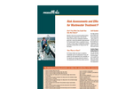 Risk Assessments and Efficiency Studies for Wastewater Treatment Plants (PDF 368 KB).