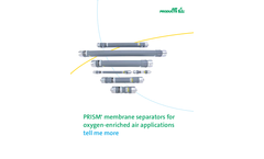 Air-Products - Membrane Separators for Oxygen-Enriched Air Applications Brochure