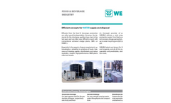 Food & Beverage Industry: Efficient Concenpts for WATER supply and disposal