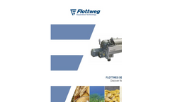 Flottweg - Sedicanter for Processing Fine and Pasty Products - Brochure