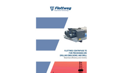 Flottweg Centrifuge Technology for Processing Drilling Mud, Drilling Emulsions and Drilling Fluids - Applications Note