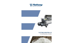 Flottweg Industrial Centrifuges for the Recovery of Lactose and Casein - Applications Note