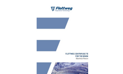 Flottweg Centrifuge Technology for the Mining Industry - Applications Note