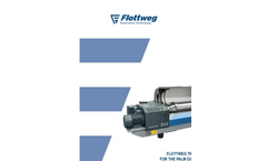 Flottweg Tricanters for the Palm Oil Industry - Applications Note