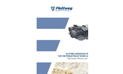Flottweg Separation Technology for the Production of Starch and Gluten - Applications Note