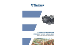 Flottweg Centrifuge Technology for Processing Tapioca / Cassava / Manioc Starch - Applications Note