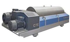 Flottweg - Model C7E - Decanter Centrifuge for Wastewater and Sewage Sludge