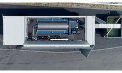 Flottweg Container Systems - Mobile sludge dewatering by Flottweg
