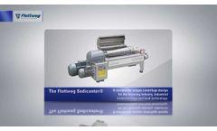 Flottweg Sedicanter® - The decanter centrifuge for soft sediment