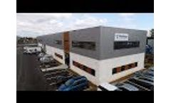 Flottweg France: 1,200 m² for Further Growth - Video