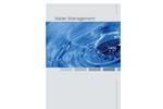 Water Management- Brochure