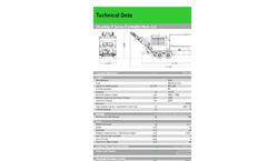 Multi-Cut - Model UH 4800 - Shredder Brochure