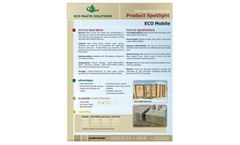 ECO Mobile Containerized Solution - Brochure