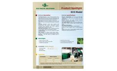 ECO Model Clean Burning Solutions - Brochure