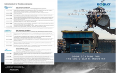 Odor Control for solid waste industry Brochure