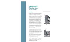 Renal Dialysis RO-RO-UF hot water sanitizable