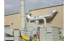 VOC control for production painting and coating