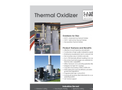 Catalytic Combustion - Thermal Oxidizer - Brochure
