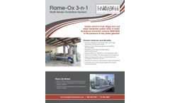 Flame-Ox 3-n-1 - Multi-Mode Oxidation System - Brochure
