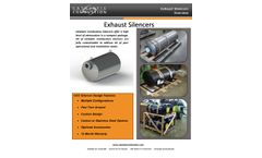 Catalytic Combustion - Exhaust Silencers - Brochure