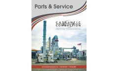 Parts & Services - Brochure