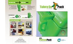 Take 'n Go - Ultra Mobile Oil Absorbent Station Brochure