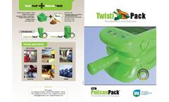 Twisti Pack - Ultra Mobile Oil Absorbent Station Brochure