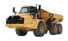 Caterpillar - Model 735B - Articulated Truck