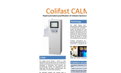 Colifast - Model CALM - Fully Automated Early Warning System Brochure