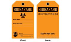 Model TAG OB 45 - Biohazard Tag